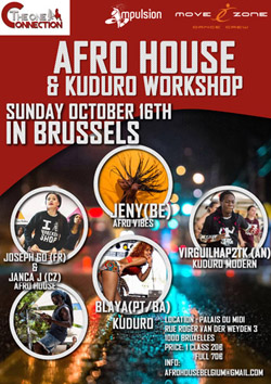 afrohouse Workshop Belgium